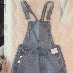 Urban Outfitters Overall Shorts